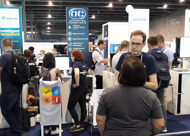 AC exhibits at Atlassian Summit 2018