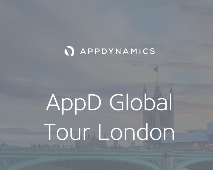 AC 参加 AppDynamics 全球之旅