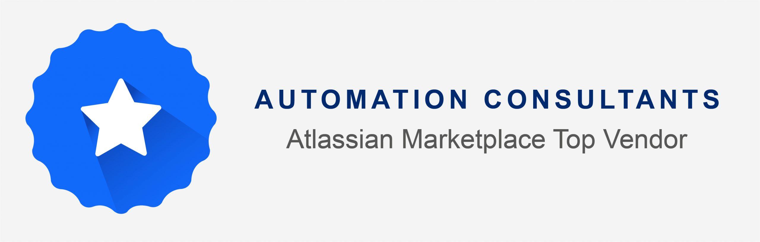 Top Vendor on the Atlassian Marketplace!