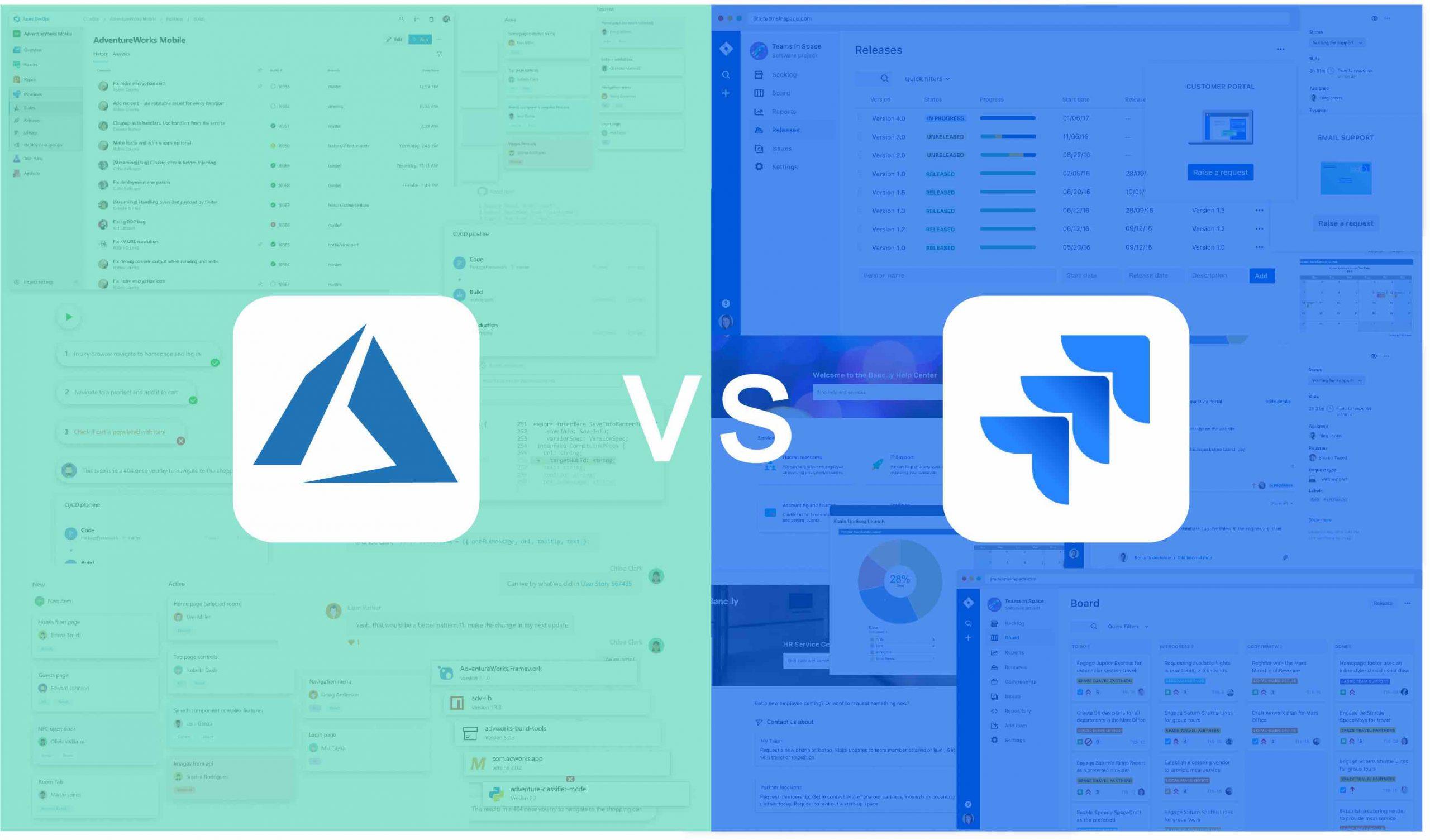 Azure DevOps 与 Jira 的对比