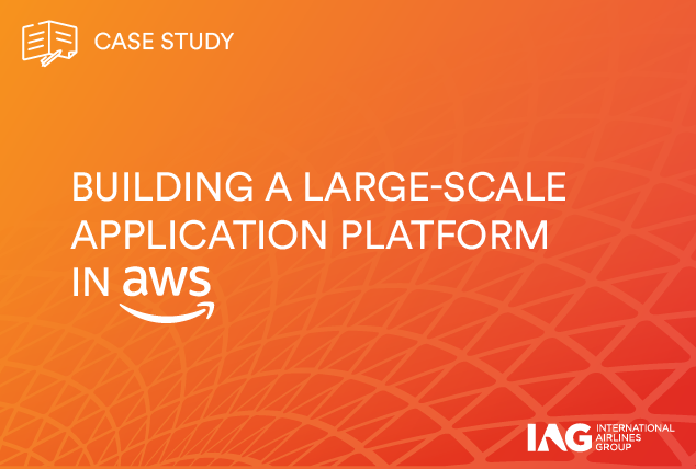 Building a large-scale application platform in AWS