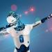 robot dabbing