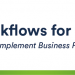 Workflows for confluence 徽标
